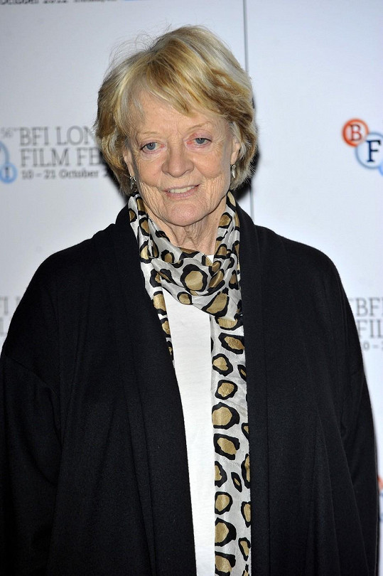 Herečka Maggie Smith