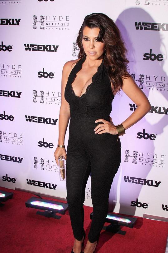 Kourtney Kardashian v Las Vegas