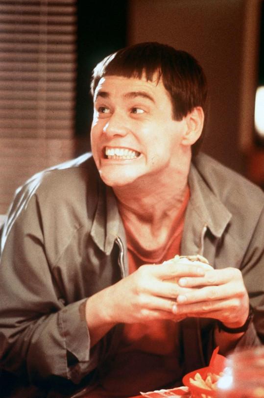 Jim Carrey v komedii Blbý a blbější