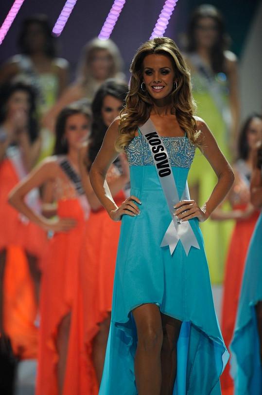 Aferdita reprezentovala Kosovo na Miss Universe v roce 2011.