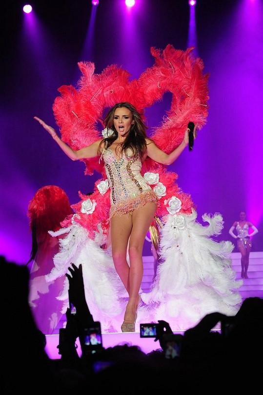 Výprava koncertu připomínala přehlídku Victoria's Secret.