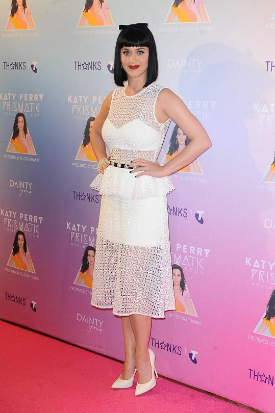 Katy Perry o pár hodin později