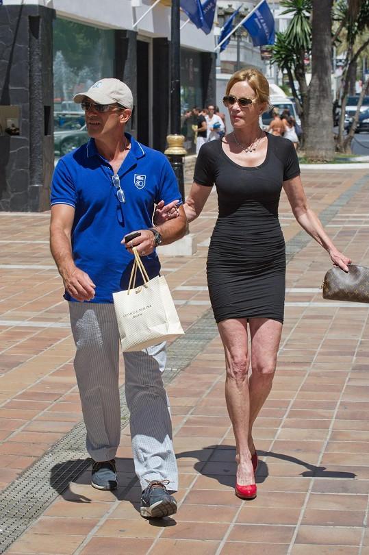Antonio Banderas s Melanií Griffith