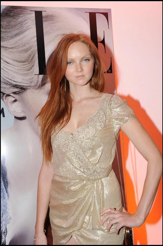 Lily Cole je úspěšnou modelkou.