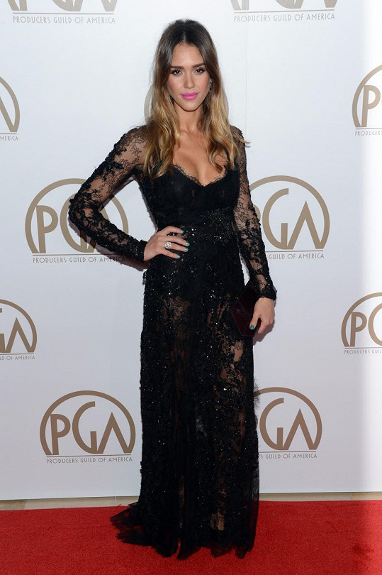 Krásná Jessica Alba.