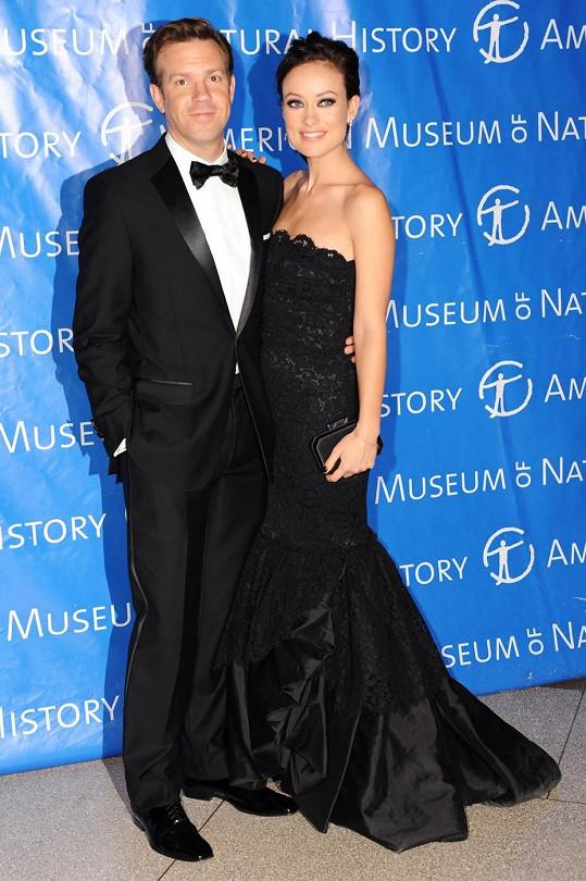 Olivia Wilde s Jasonem Sudeikisem.