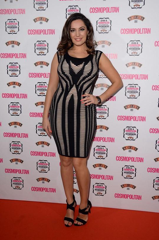 Modelka si z Cosmopolitan Women Of The Year Awards odnesla jednu z cen.