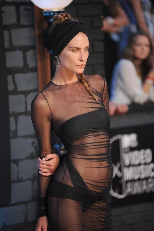 Šaty Erin Wasson vzbudily největší ohlas.