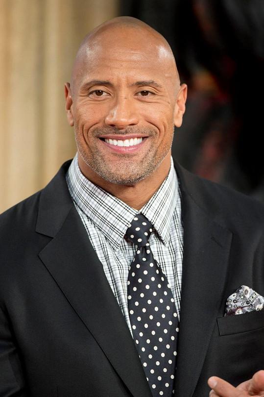 Johnson je dnes druhým nejlépe placeným hercem.
