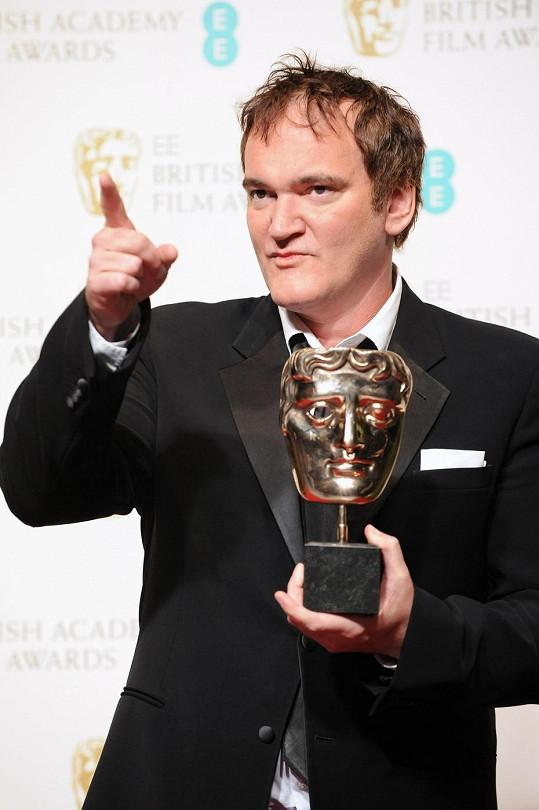 Quentin Tarantino si za Nespoutaného Djanga odnesl cenu za nejlepší původní scénář.