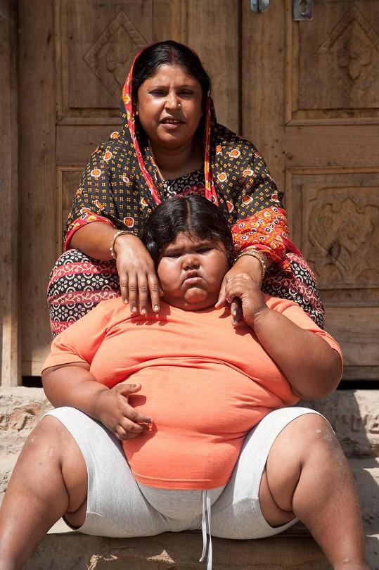 Suman a její matka Beli Bibi