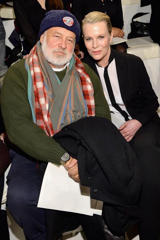 Herečka s fotografem Brucem Weberem