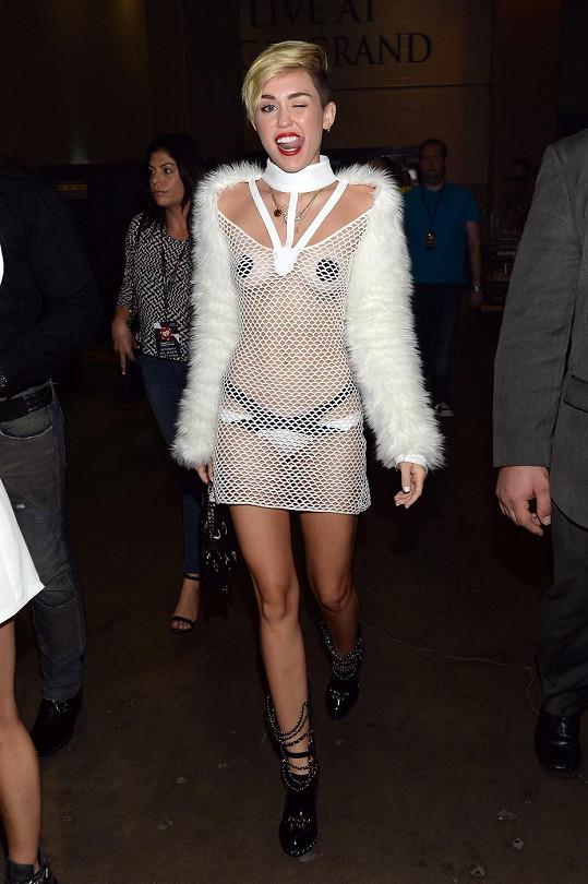 Miley Cyrus v Las Vegas