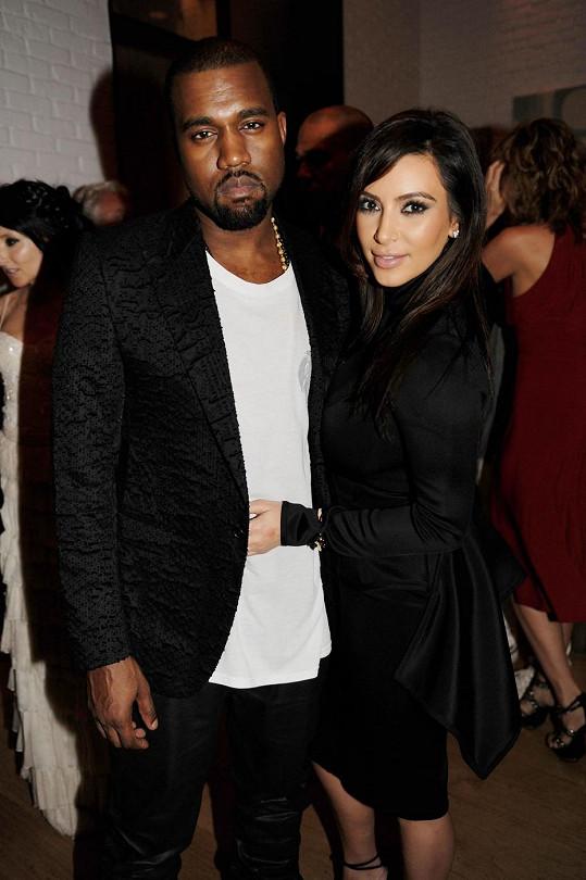 Pyšní rodiče Kim a Kanye.