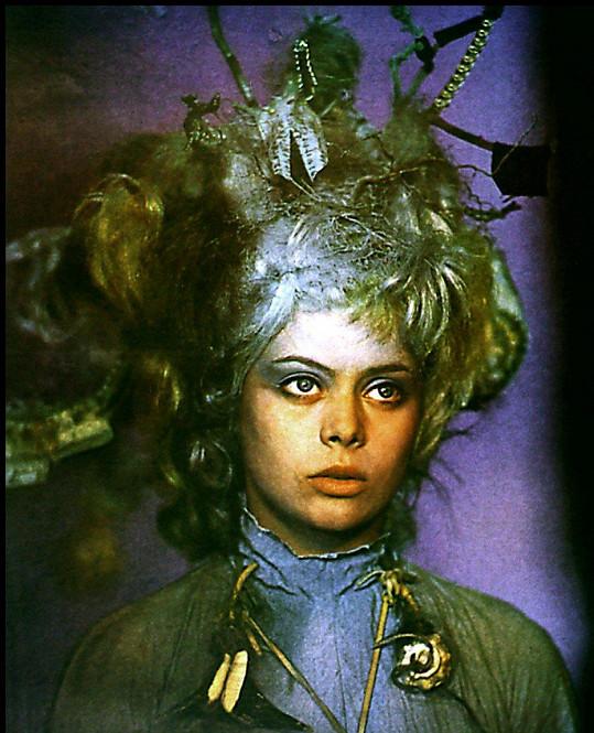 Miroslava Šafránková v pohádce Malá mořská víla (1976)
