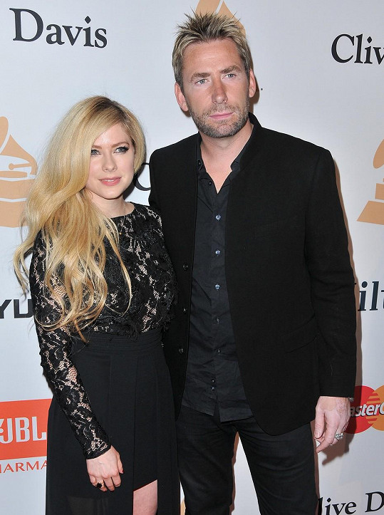Avril Lavigne a Chad Kroeger vyrazili na večírek.