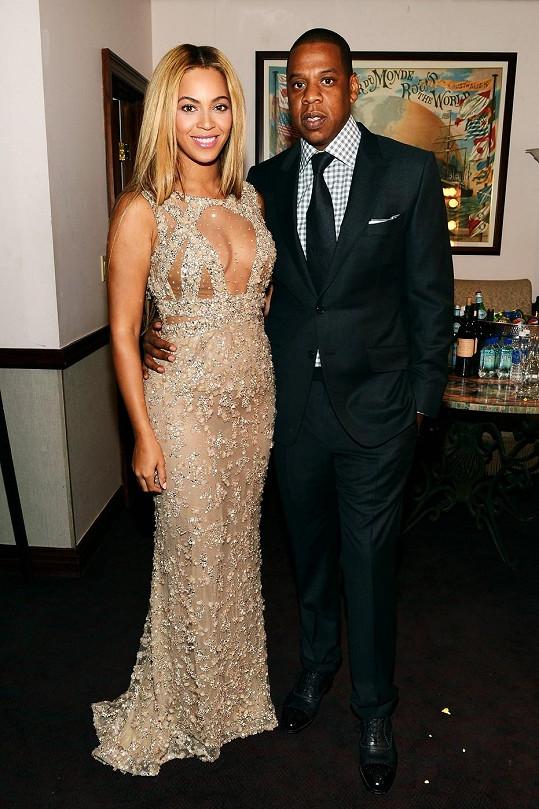 Beyoncé Knowles a Jay-Z.