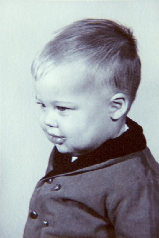 Brad Pitt byl kouzelné dítě.