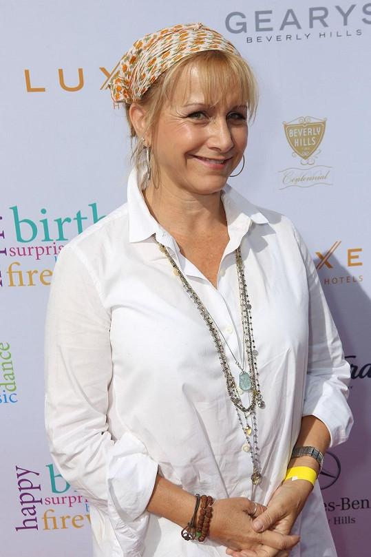 Gabrielle Carteris je dvojnásobnou matkou.