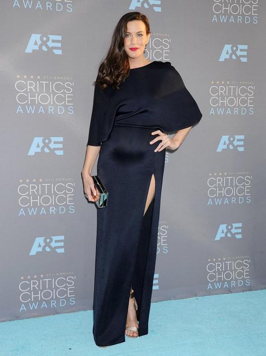 Liv vyrazila na udílení Critics Choice Awards.