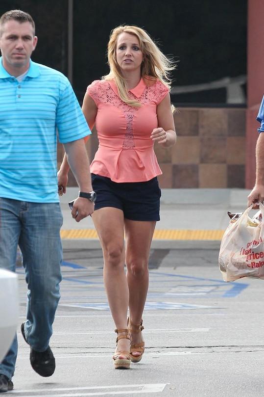Britney v poslední době září štěstím.