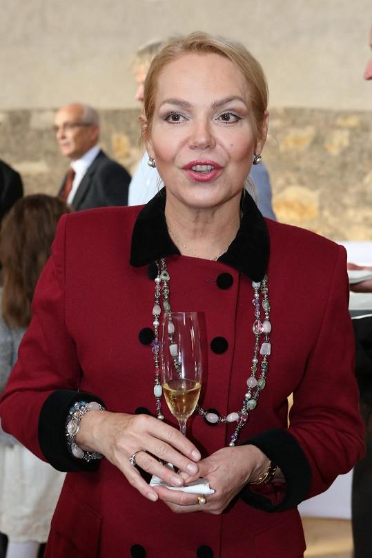 Bývalá první dáma udělovala ceny Vize 97.