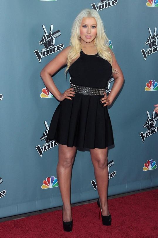 Christina vypadá senzačně.
