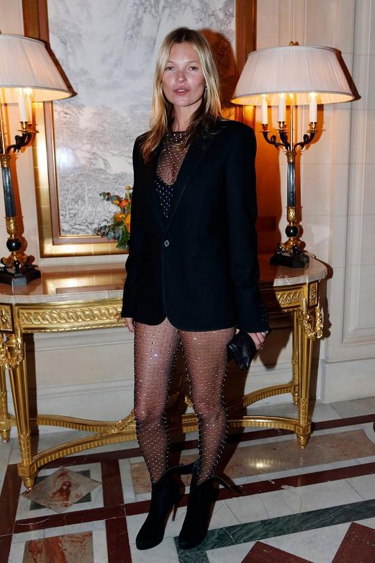 Kate Moss na večírku k vydání CR Fashion Book Issue 2.