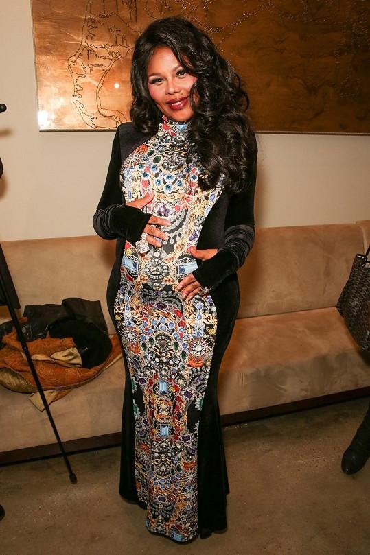 Těhotná zpěvačka na týdnu módy v New Yorku