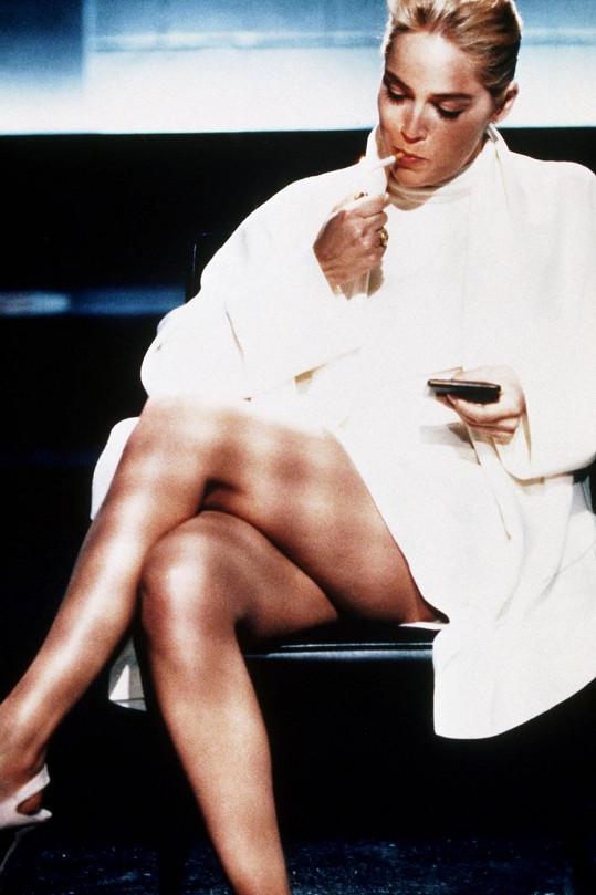 Sharon Stone v Základním instinktu (1992)