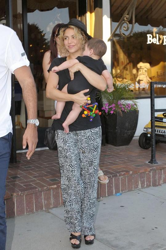 Shakira se synem Milanem