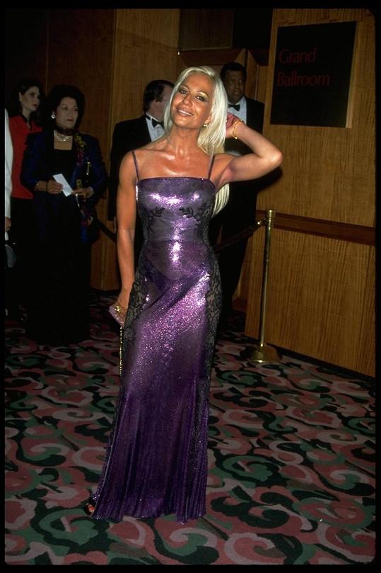 Donatella bývala velmi pohlednou ženou.