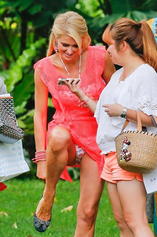 Paris a její holčičí kalhotky...