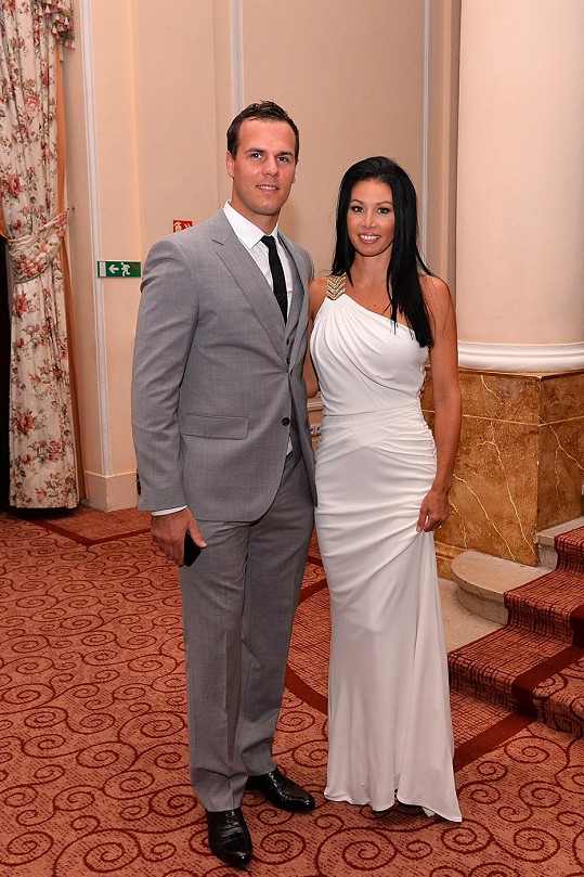 David Krejčí a jeho budoucí manželka Naomi