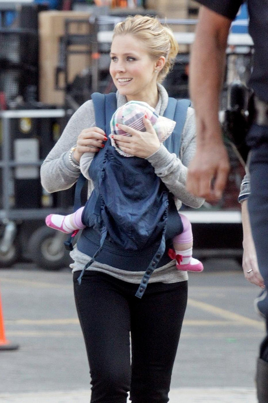 Kristen Bell s dcerou Lincoln
