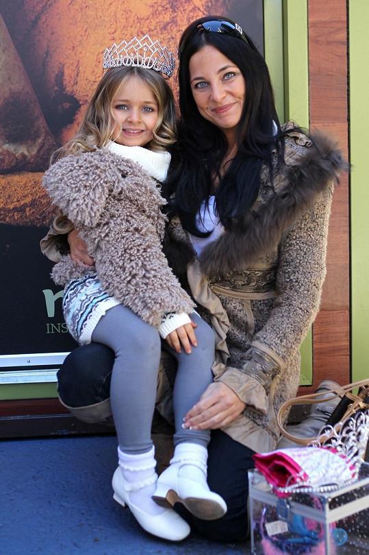 Isabella s maminkou Susannou.
