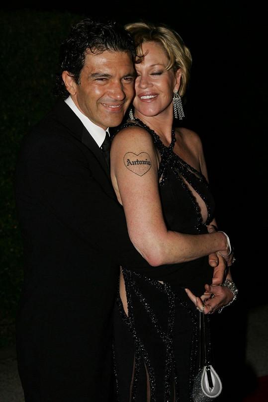 Manželství Melanie Griffith a Antonia Banderase vydrželo osmnáct let.