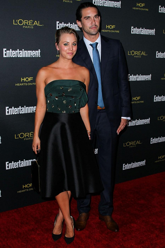 Kaley Cuoco s manželem Ryanem Sweetingem
