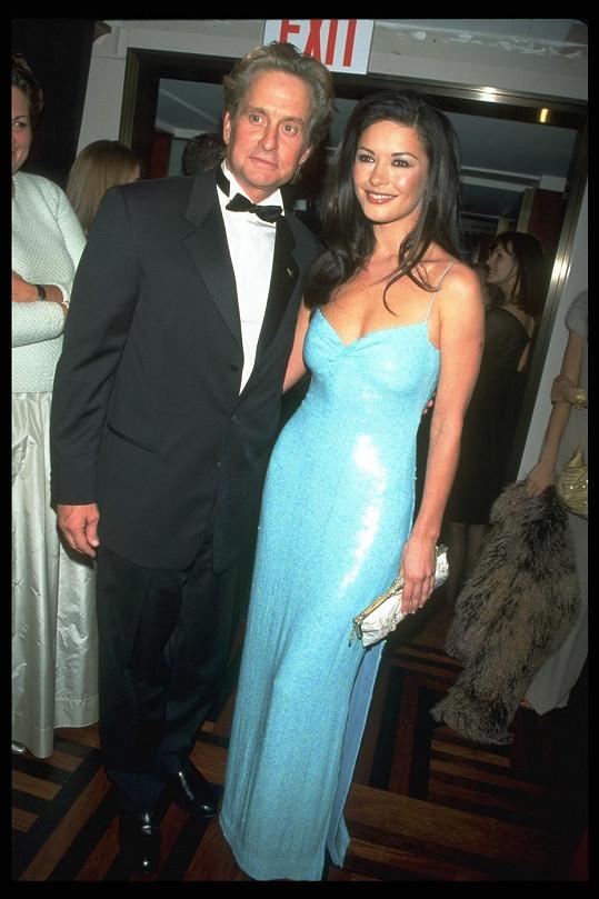 Michael a Catherine v roce 1999, kdy ještě netvořili manželský pár.