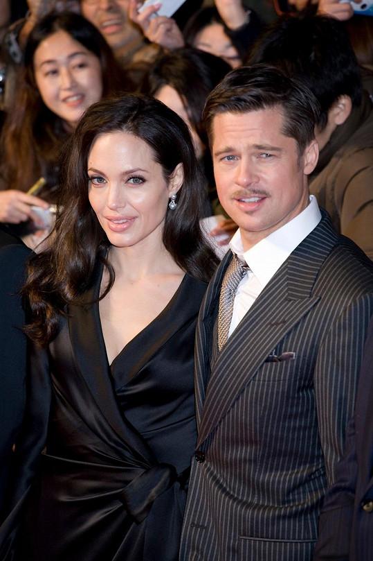 Jolie a Pitt v lednu 2009 na premiéře filmu Podivuhodný případ Benjamina Buttona