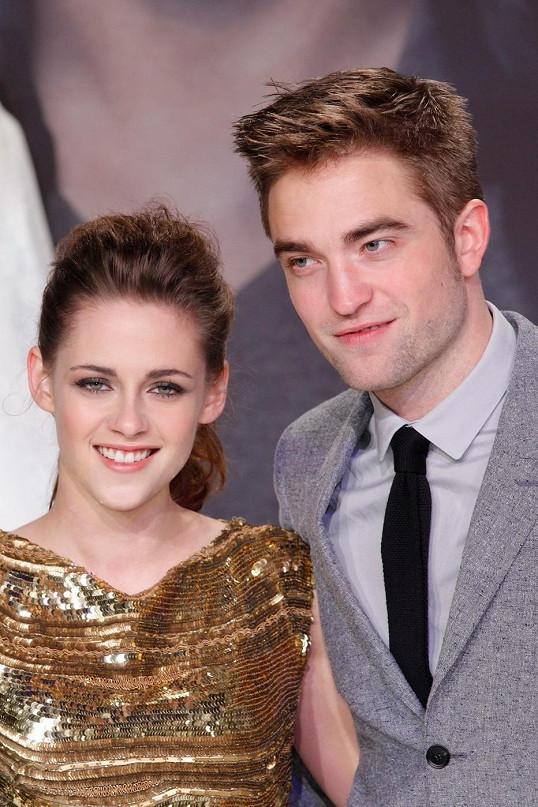 Kristen Stewart a Robert Pattinson.