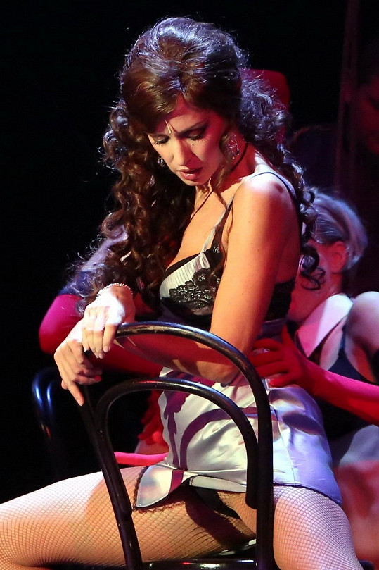 Kateřina jako Mata Hari.
