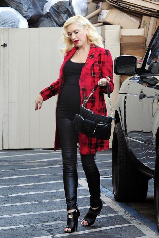 Gwen Stefani bude trojnásobnou maminkou.