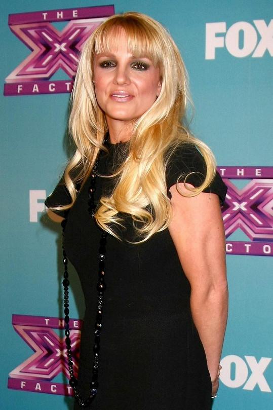 Britney jako blondýnka.