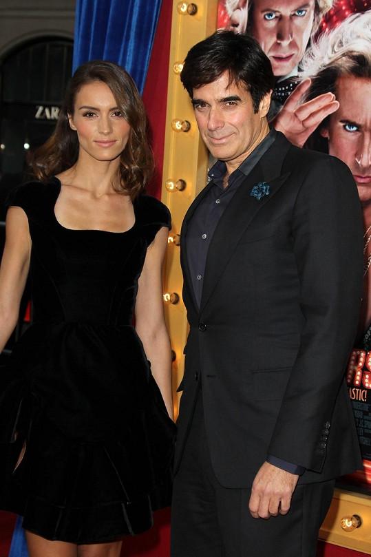 David Copperfield se svou budoucí ženou Chloe Gosselin