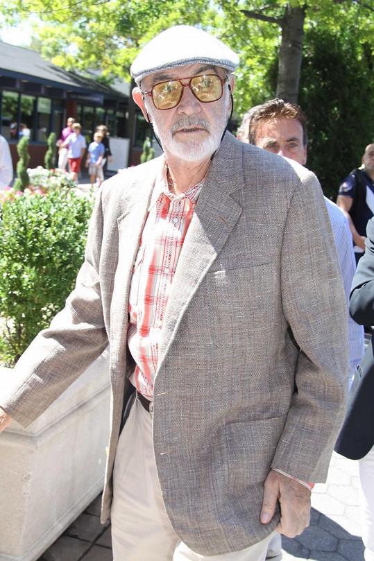 Sean Connery je pořád velmi vitální, ač se spekuluje, že je vážně nemocen.