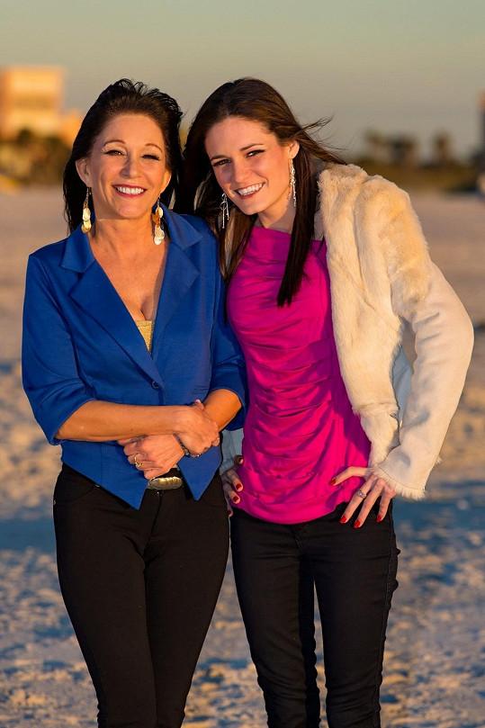 Jessica a její dcera Monica.