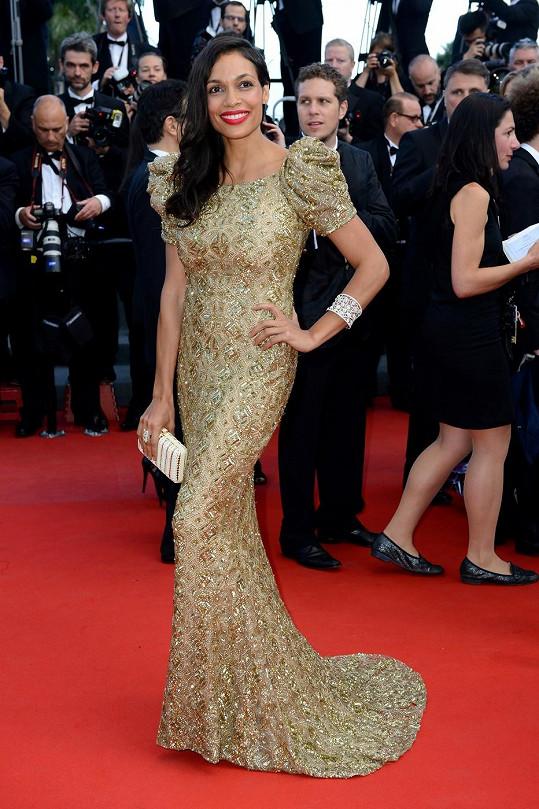 Rosario Dawson v Cannes.