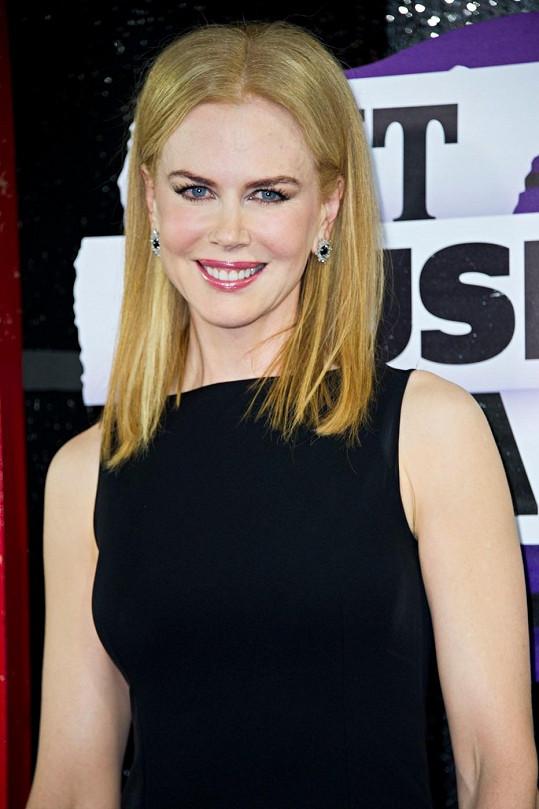 Aktuální vzhled Nicole Kidman