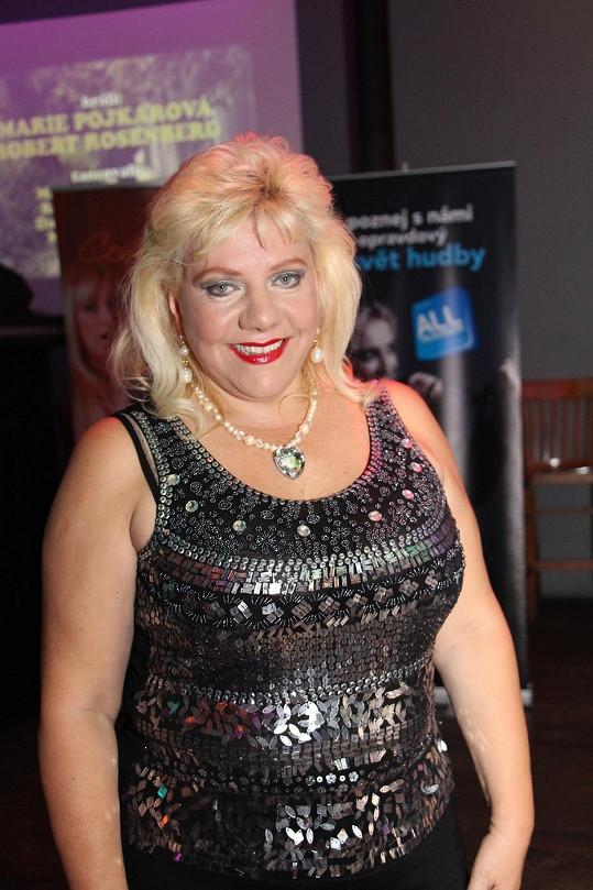 Marie Pojkarová má důvod k úsměvu. Zhubla 7 kilo a váha jde dál dolů.